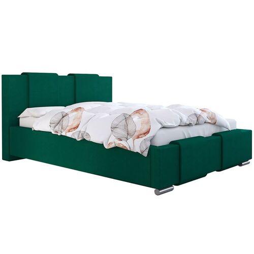 Elior Jednoosobowe łóżko ze schowkiem 120x200 Lamar 2X - 48 kolorów