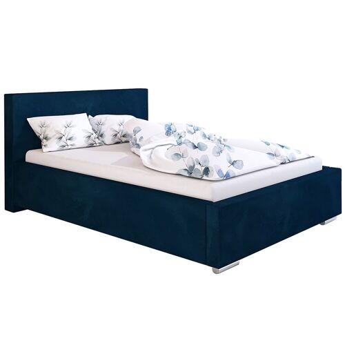 Elior Jednoosobowe łóżko z pojemnikiem 90x200 Eger 3X - 48 kolorów