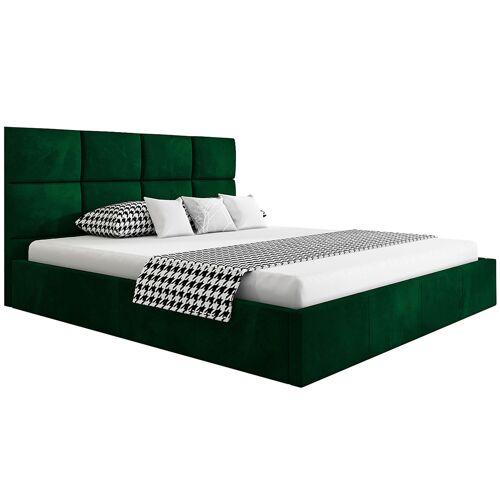 Elior Podwójne łóżko ze schowkiem 160x200 Nikos 3X - 48 kolorów