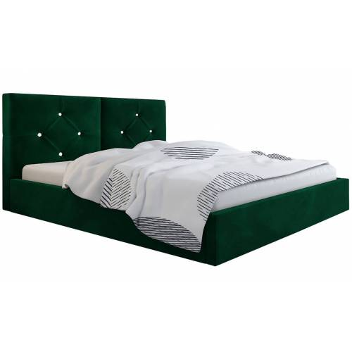 Elior Podwójne łóżko ze schowkiem 140x200 Celini 2X - 48 kolorów
