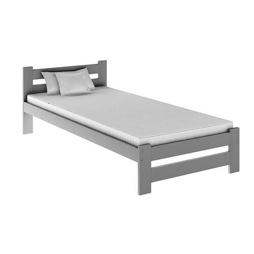 Producent: Elior Jednoosobowe łóżko Marsel 90x200 - szare