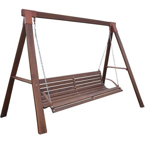 Producent: Elior Ogrodowa huśtawka drewniana Magis 3X - 160 cm