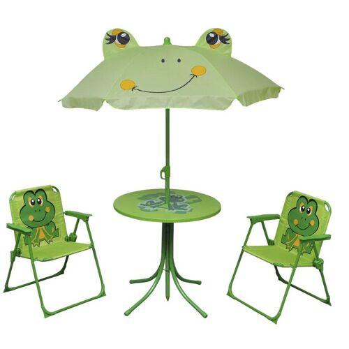 Producent: Elior Zestaw mebli ogrodowych dla dzieci Lummo - zielony