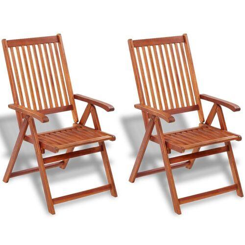 Elior Drewniane krzesła ogrodowe Pasadena 2 szt