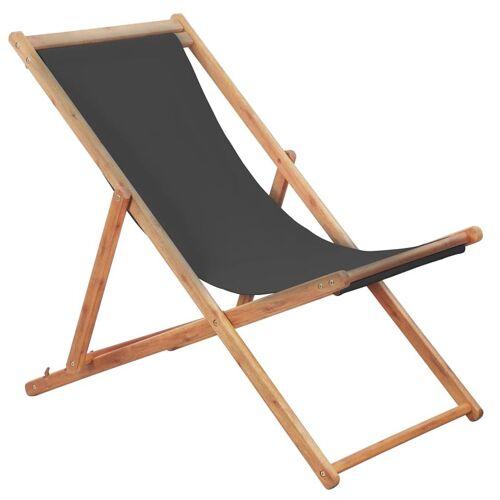 Elior Szary składany leżak na plażę - Inglis 2X
