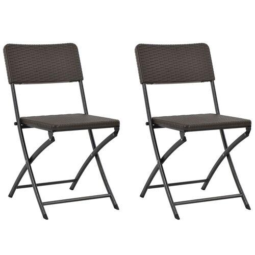 Elior Składane krzesła ogrodowe Otavio - 2 szt