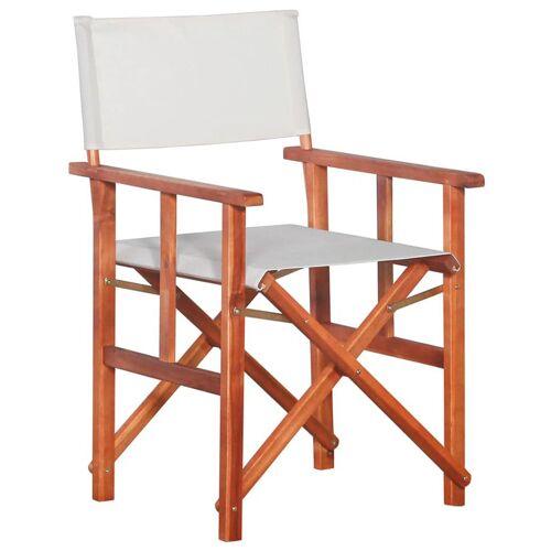 Elior Krzesło reżyserskie tarasowe Martin - białe