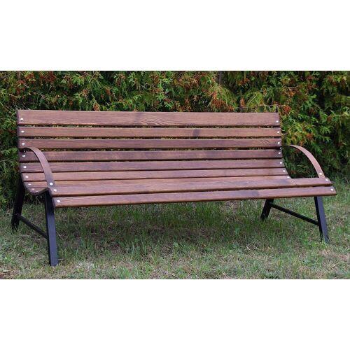 Producent: Elior Drewniana ławka tarasowa Wagris 120 cm - orzech