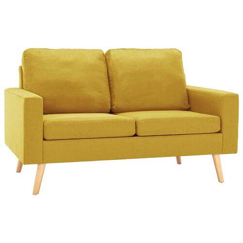 Elior Dwuosobowa żółta sofa - Eroa 2Q