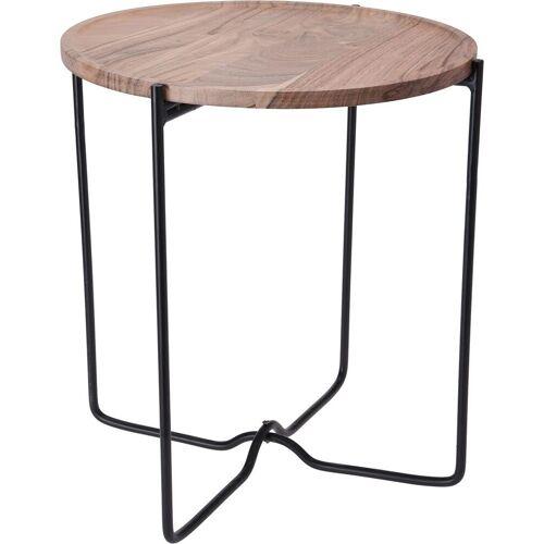 Producent: Elior Loftowy stolik kawowy Sulli 42 cm - drewniany