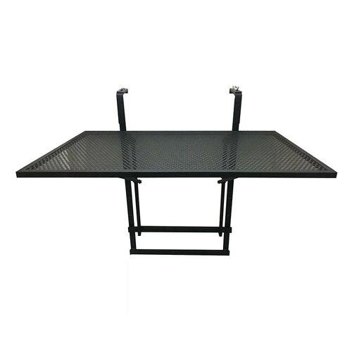 Producent: Elior Rozkładany stolik balkonowy Imes - czarny