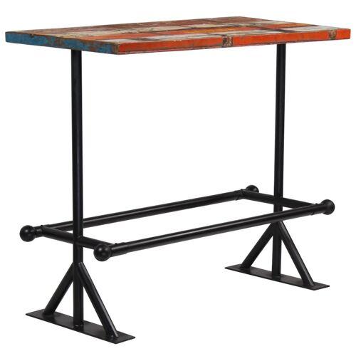 Elior Kolorowy, drewniany stolik barowy – Sidden 3X