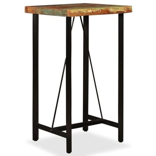 Elior Wielokolorowy stolik z odzyskanego drewna – Chris 2X