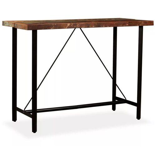 Elior Wielokolorowy stolik z odzyskanego drewna – Chris 4X