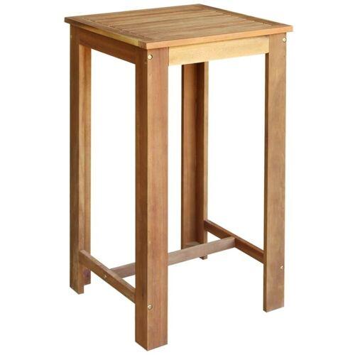 Elior Stolik barowy drewniany Piles 2X – brązowy