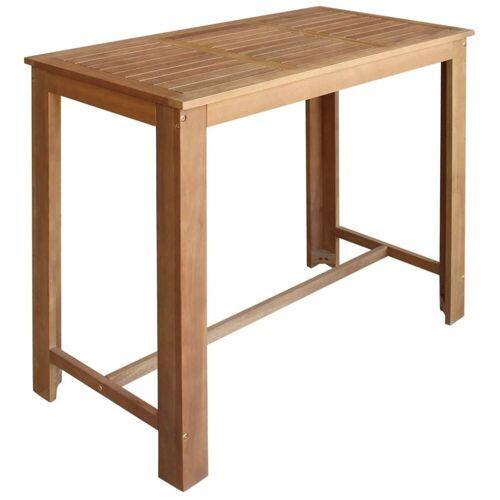 Elior Stolik barowy drewniany Piles 3X – brązowy