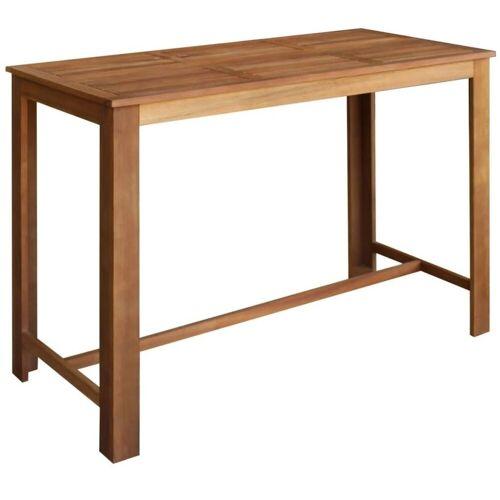 Elior Stolik barowy drewniany Piles 4X – brązowy