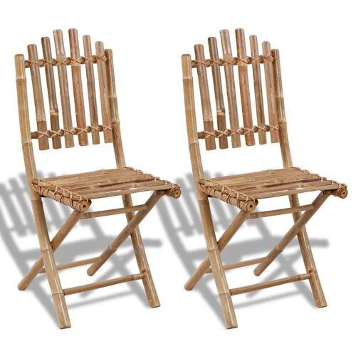 Elior Składane krzesła tarasowe Javal - 2 szt.