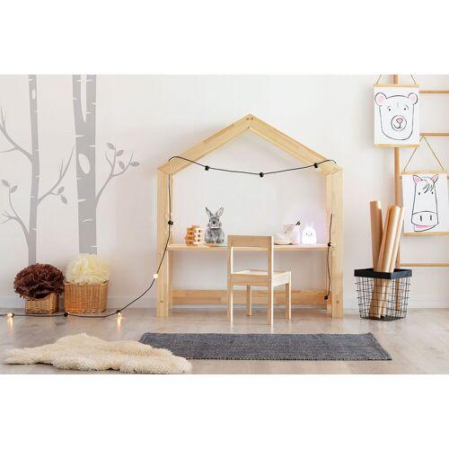 Producent: Elior Drewniane biurko dziecięce domek Rosie 2X