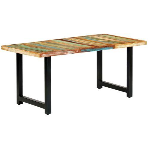 Elior Stół z drewna odzyskanego Buzel 2X – wielokolorowy
