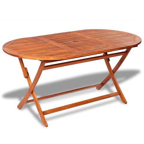 Elior Składany stół ogrodowy Endela - drewno akacjowe