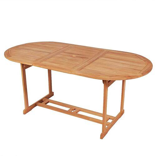 Elior Stół ogrodowy Crayon 2X - lite drewno tekowe