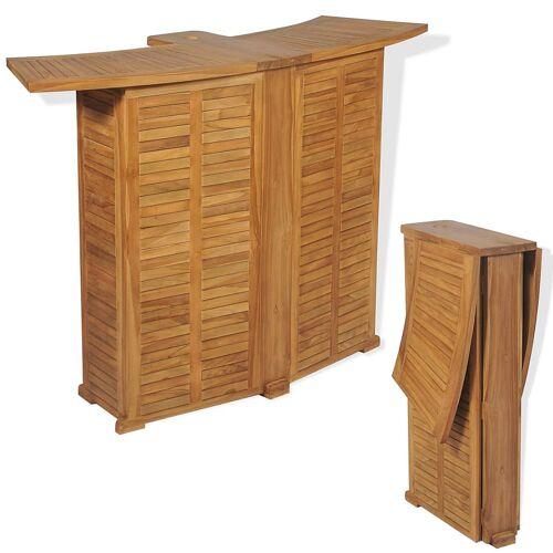 Elior Drewniany barowy stolik ogrodowy - Arden