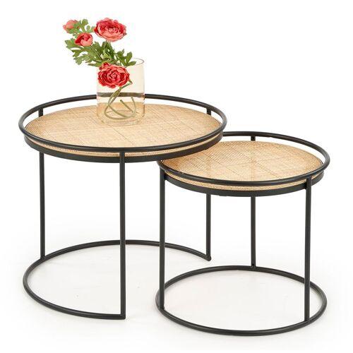 Producent: Elior Zestaw loftowych stolików kawowych Artelia