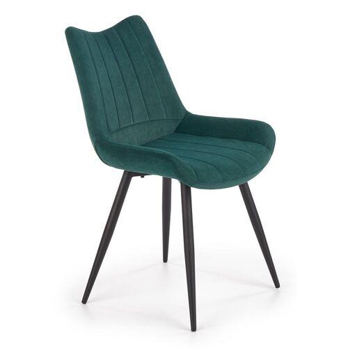 Producent: Elior Luksusowe krzesło Debi - zielony