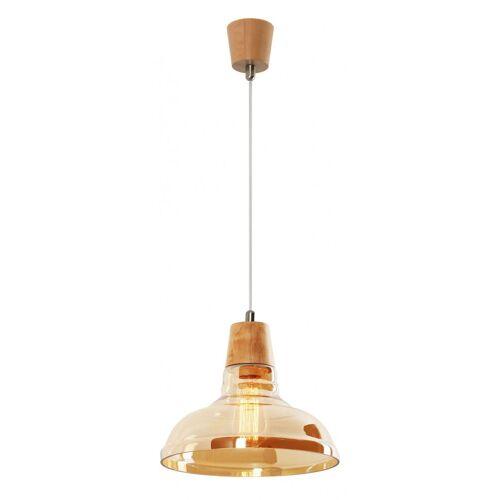 Lumes Drewniana lampa wisząca E697-Tons