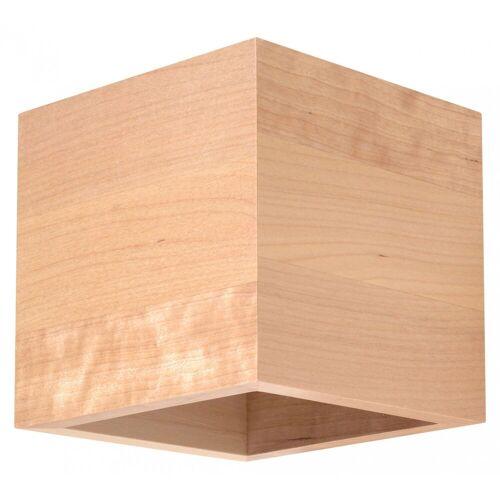 Lumes Drewniany kinkiet E718-Quas