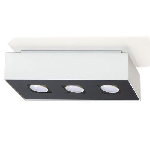 Lumes Plafon łazienkowy LED E775-Mons - biały