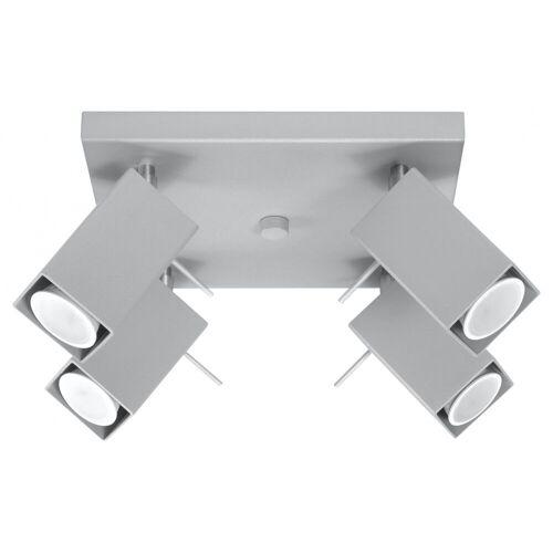 Lumes Łazienkowy plafon LED E789-Merids - szary
