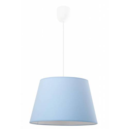 Lumes Niebieska trapezowa lampa wisząca - EX481-Pastela