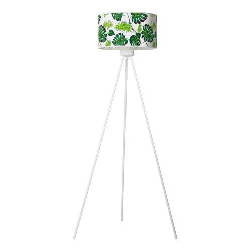 Lumes Lampa stojąca trójnóg z roślinnym wzorem - EX500-Monsteri