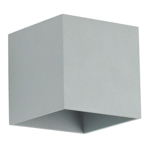 Lumes Designerski kinkiet E049-Quade - popiel