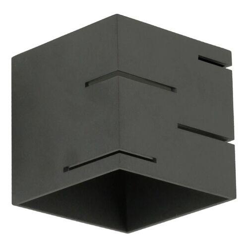 Lumes Designerski kinkiet E056-Quade - czarny