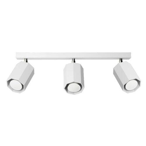 Lumes Designerski metalowy plafon E171-Hen - biały