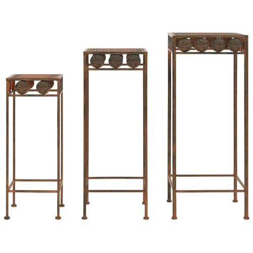 Elior Zestaw 3 kwietników w stylu vintage - Tanger