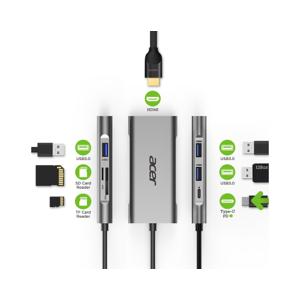Acer Wieloportowa Przejściówka 7-in-1 Type-C