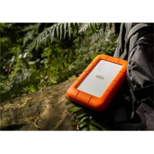 LaCie 5TB Rugged Thunderbolt USB-C    Pomarańczowy