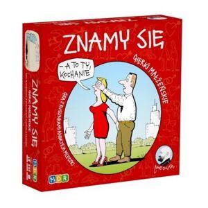 Mdr Znamy się. Gra towarzyska ilustrowana rysunkami Andrzeja Mleczki