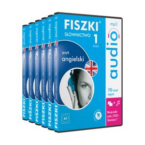 Fiszki Angielski - Audio CD - Kompleksowy Kurs - Skuteczna i Szybka Metoda Nauki Języka Angielskiego