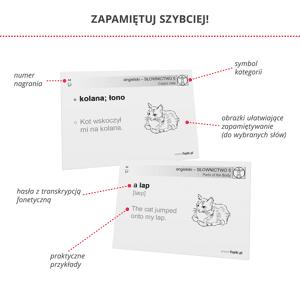 Fiszki Angielski - Dla Zaawansowanych - Skuteczna i Szybka Metoda Nauki Języka Angielskiego