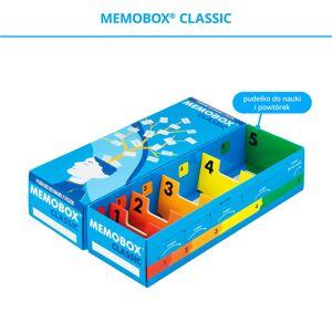 FISZKI Memobox Classic - Kartonowy - Pudełko Do Szybkiej i Skutecznej Nauki Języka Obcego
