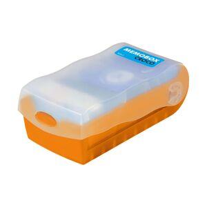 FISZKI Memobox Croco Orange - Plastikowy - Pudełko Do Szybkiej i Skutecznej Nauki Języka Obcego