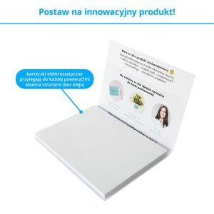 FISZKI Przyczepki - 100 Białych Karteczek Elektrostatycznych