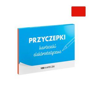 FISZKI Przyczepki - 100 Czerwonych Karteczek Elektrostatycznych