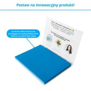 FISZKI Przyczepki - 100 Niebieskich Karteczek Elektrostatycznych