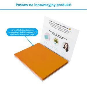 FISZKI Przyczepki - 100 Pomarańczowych Karteczek Elektrostatycznych